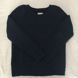 Lou & Grey sweatshirt with texture